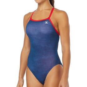 TYR W's Sandblasted Diamondfit Swimsuit Durafast One Navy
